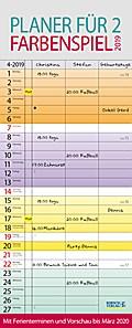 Farbenspiel - Planer für 2 2019