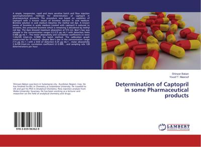 Determination of Captopril in some Pharmaceutical products