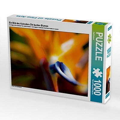 Ein Bild des Kalenders Die bunten Blumen (Puzzle)