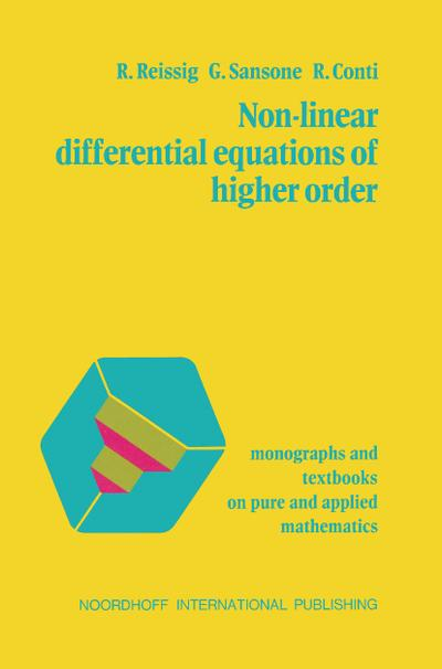 Non-Linear Differential Equations of Higher Order