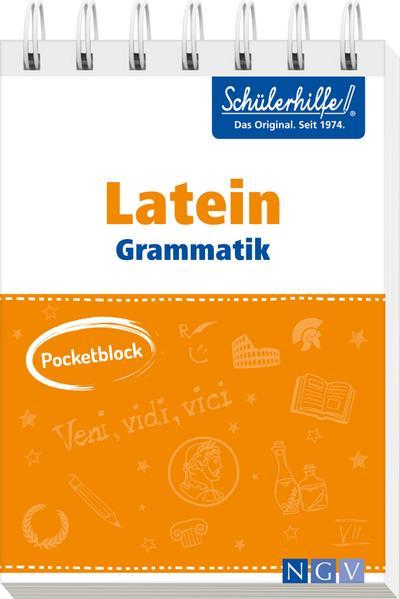 Pocketblock Latein Grammatik
