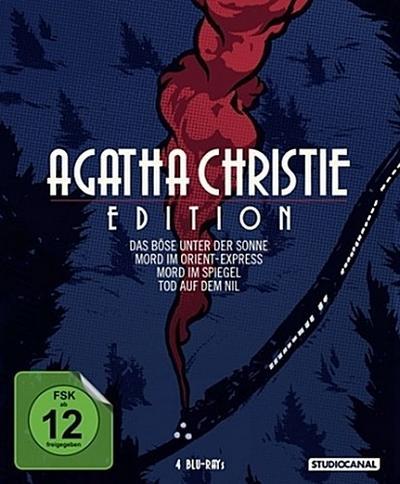 Agatha Christie Edition, 4 Blu-rays