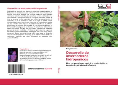 Desarrollo de invernaderos hidropónicos