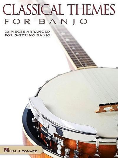 Classical Themes :for 5-string banjo in tablature