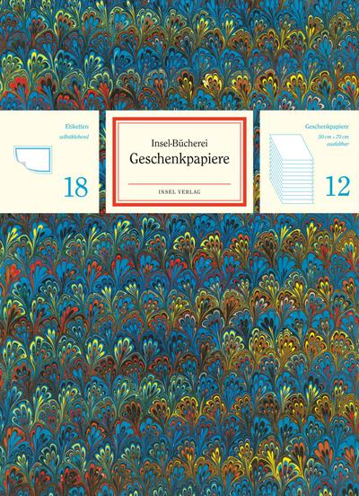 Insel-Bücherei Geschenkpapier-Set 2018