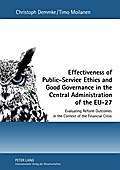 Effectiveness of Public-Service Ethics and Good Governance in the Central Administration of the EU-27