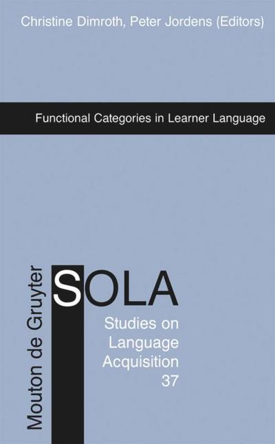 Functional Categories in Learner Language