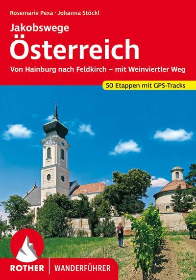 Rother Wanderführer Jakobswege Österreich