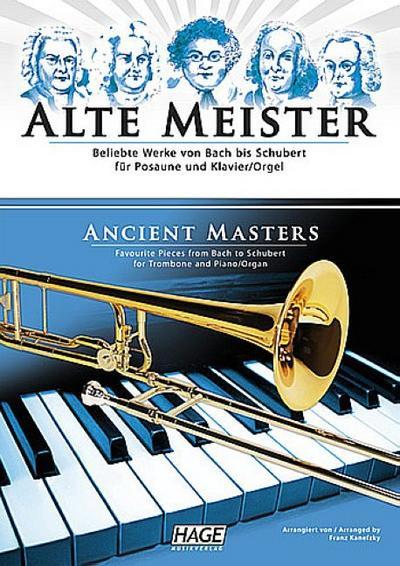 Alte Meister für Posaune und Klavier (Orgel)