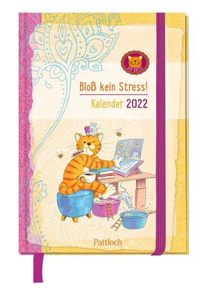 Om-Katze: Bloß kein Stress! Taschenkalender 2022