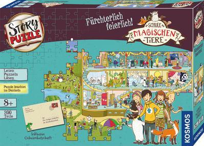 Schule der magischen Tiere - Story Puzzle: Fürchterlich feierlich! (Kinderspiel)