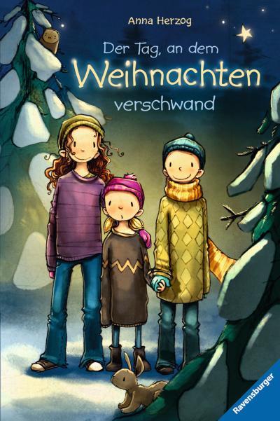 Der Tag, an dem Weihnachten verschwand; Ravensburger Taschenbücher; Ill. v. Tourlonias, Joëlle; Deutsch; schw.-w. Ill.