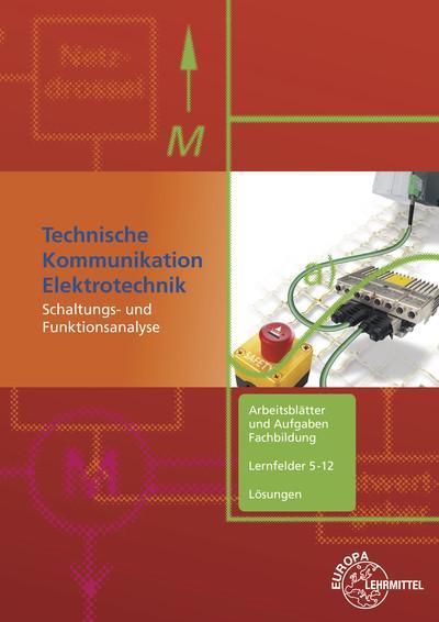 Technische Kommunikation Elektrotechnik Lösungen zu 35911