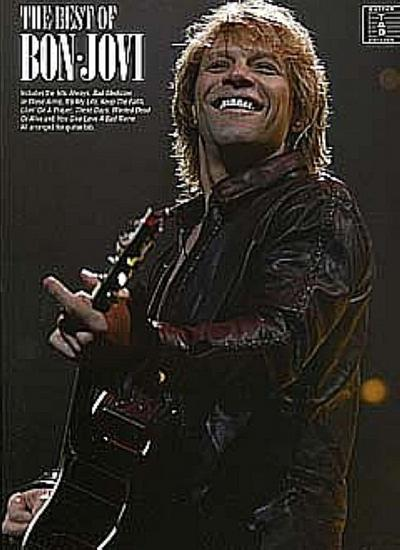 The Best Of Bon Jovi: Songbook, Grifftabelle für Gitarre