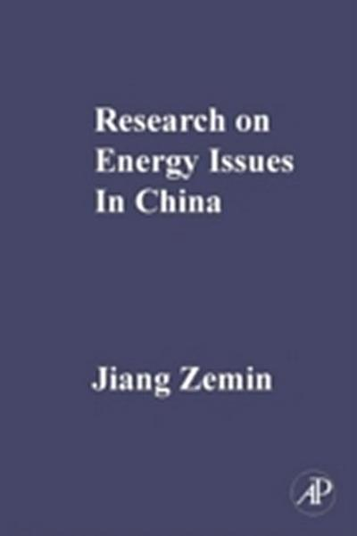 Research on Energy Issues in China