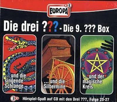 Die drei ??? Box 10. Folgen 28-30 (drei Fragezeichen) 3 CDs