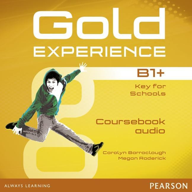 Gold Experience B1+ Class Audio CDs