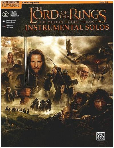 The Lord of the Rings Instrumental Solos: Alto Sax, Book & Online Audio/Software [With CD (Audio)]