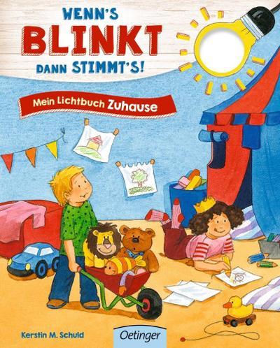 Wenn´s blinkt, dann stimmt´s!: Mein Lichtbuch Zuhause