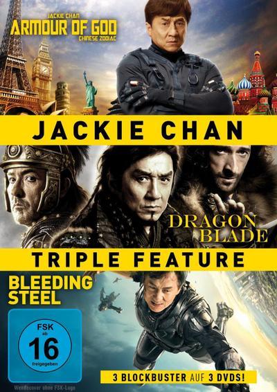 Jackie Chan Triple Feature DVD-Box