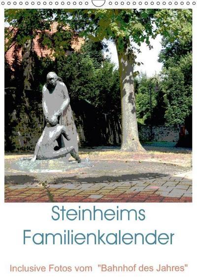 Steinheims Familienkalender (Wandkalender 2018 DIN A3 hoch): Erstmalig ein Planer mit den neuesten Ansichten Steinheims (Familienplaner, 14 Seiten ) ... [Kalender] [Apr 09, 2017] Diedrich, Sabine