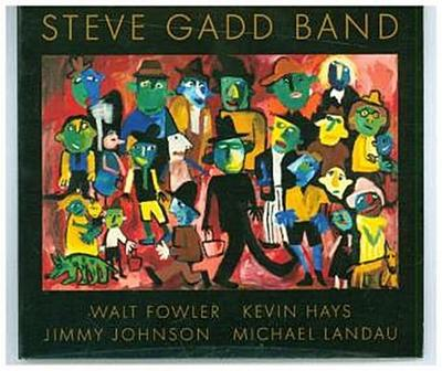Steve Gadd Band, 1 Audio-CD