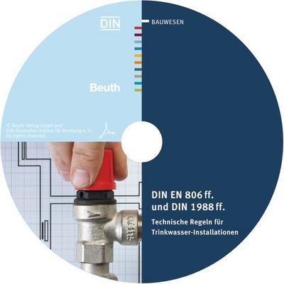 DIN EN 806 ff. und DIN 1988 ff., CD-ROM