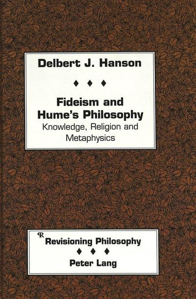 Fideism and Hume's Philosophy
