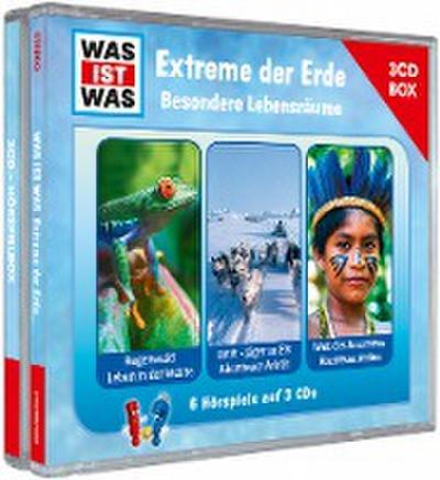Extreme der Erde. Besondere Lebensräume, 3 Audio-CD