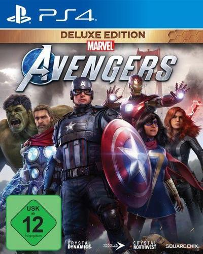 Marvel's Avengers Deluxe Edition (PlayStation PS4)
