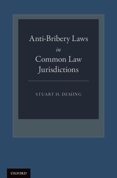 Anti-Bribery Laws in Common Law Jurisdictions