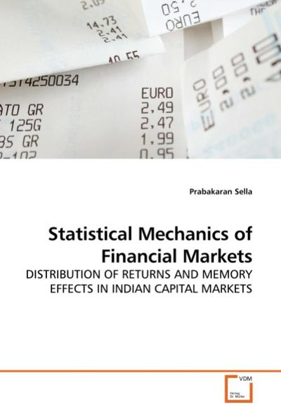 Statistical Mechanics of Financial Markets