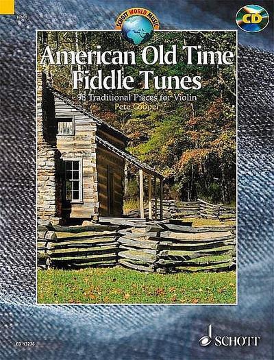 American Old Time Fiddle Tunes, für Violine, m. Audio-CD