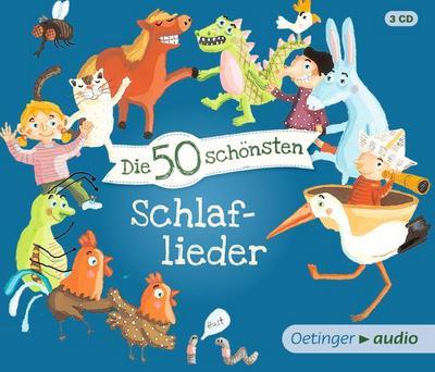 Die 50 schönsten Schlaflieder (AT) (3 CD); Deutsch; Bitte diese Informationen aufbewahren. Achtung! Nicht für Kinder unter 36 Monaten geeignet. Kleinteile. Verschluckungs- und Erstickungsgefahr.