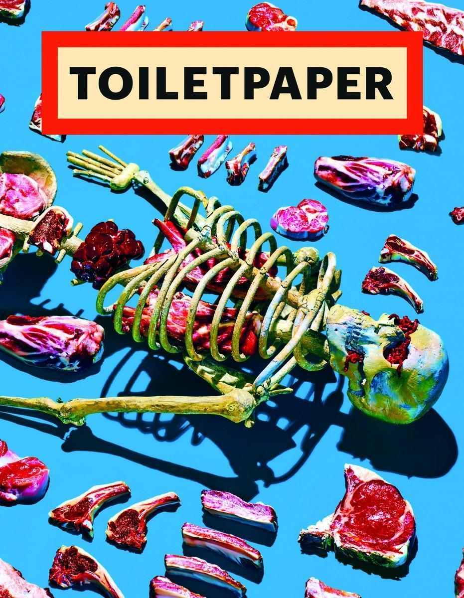 Toiletpaper. Vol.13 Maurizio Cattelan