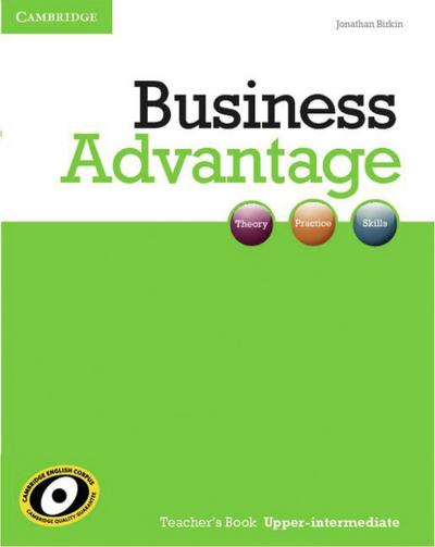 Business Advantage B2. Upper-Intermediate. Teacher's Book
