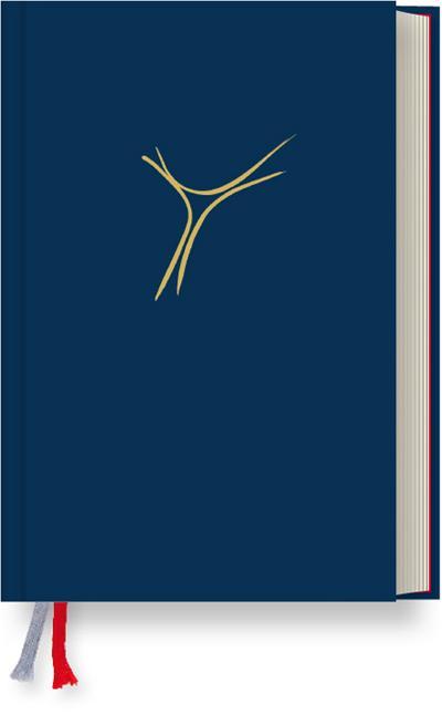 Gotteslob Bistum Passau- Standardausgabe Balacron dunkelblau