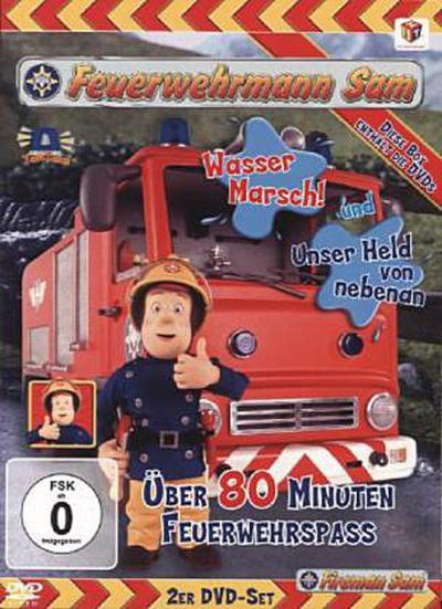 Feuerwehrmann Sam, Box 1, 2 DVDs