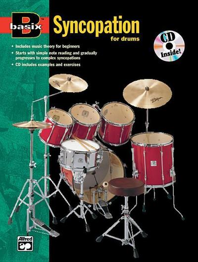 Basix Syncopation for Drums: Book & CD