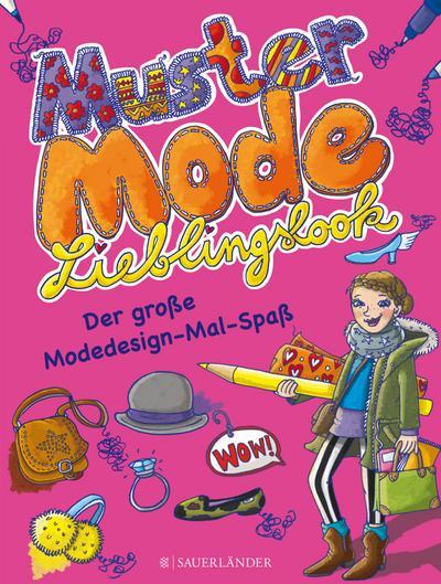 Muster, Mode, Lieblingslook: Der große Modedesign-Mal-Spaß