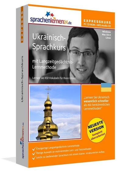 Sprachenlernen24.de Ukrainisch-Express-Sprachkurs. PC CD-ROM für Windows/Linux/Mac OS X + MP3-Audio-CD für Computer /MP3-Player /MP3-fähigen CD-Player