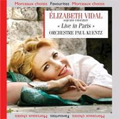 Elizabeth Vidal-Live in Paris