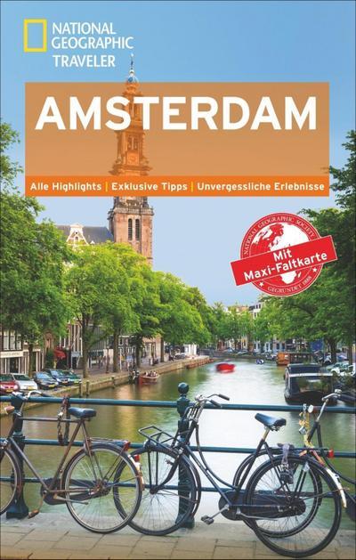 National Geographic Traveler Amsterdam mit Maxi-Faltkarte; National Geographic Traveler; Deutsch