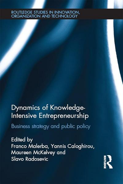 Dynamics of Knowledge Intensive Entrepreneurship