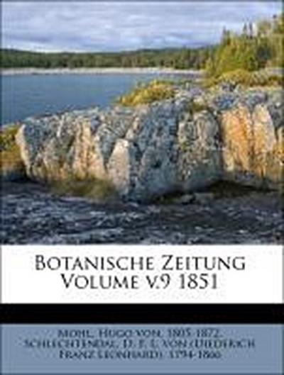 Botanische Zeitung Volume v.9 1851