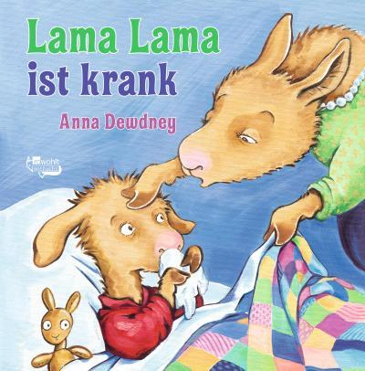 Lama Lama ist krank