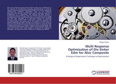 Multi Response Optimization of Die Sinker Edm for Alsic Composite