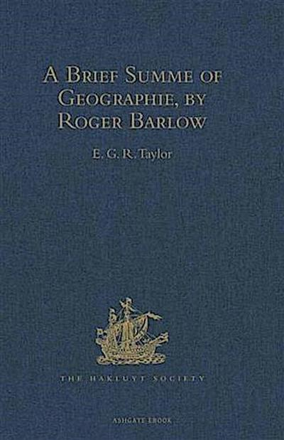 Brief Summe of Geographie, by Roger Barlow