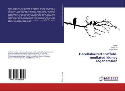 Decellularized scaffold-mediated kidney regeneration