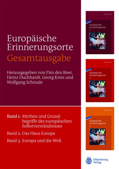 Europäische Erinnerungsorte, 3 Bde.